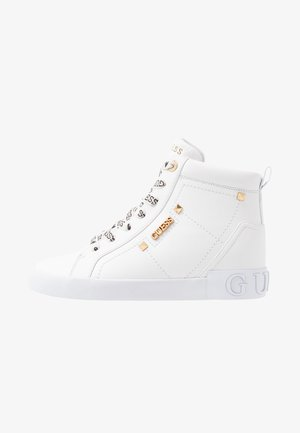 PORTLY - Sneakers hoog - white