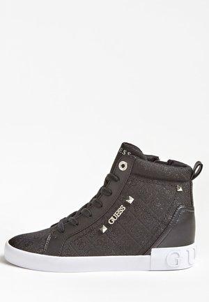 PORTLY - Sneakersy wysokie - schwarz