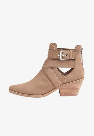 Classic ankle boots - beige