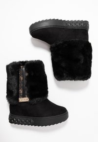 Guess - FELLO - Wedge Ankle Boots - black - 3