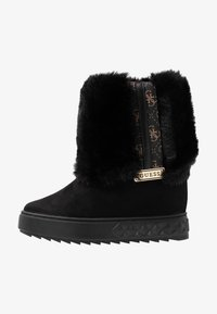 Guess - FELLO - Wedge Ankle Boots - black - 1
