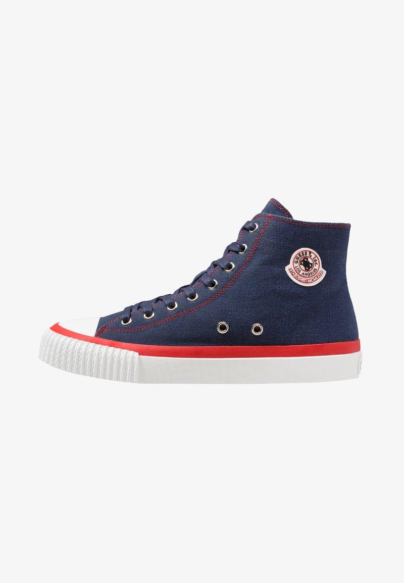 Guess - MALIBU - Sneakers high - blue