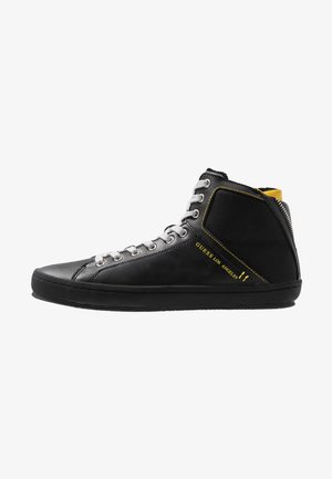 MIRACLE MID - Baskets montantes - black/yellow