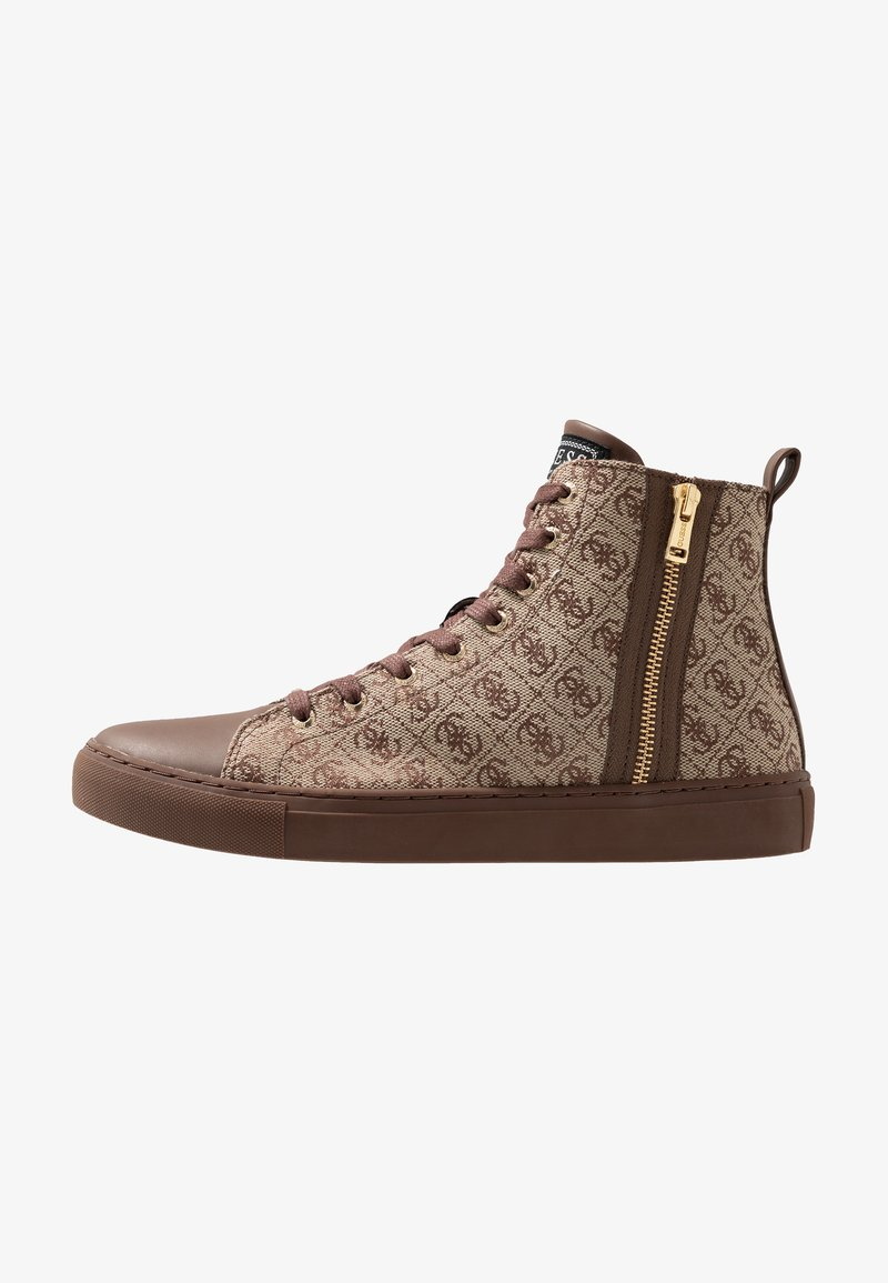 Guess - LUISS MID  - Sneaker high - brown
