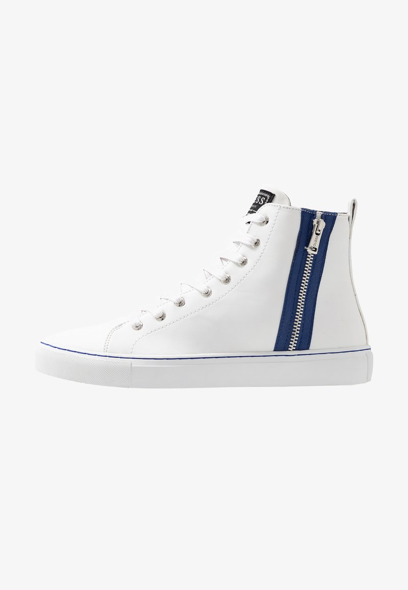 Guess - LUISS MID - Zapatillas altas - white/blue