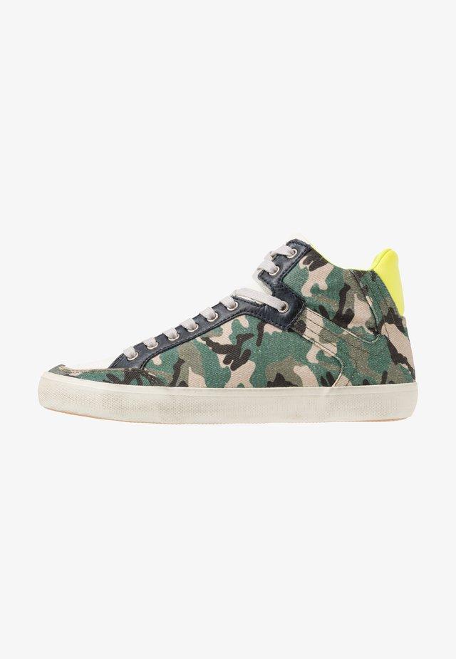 STATEMENT  - Sneakers hoog - khaki