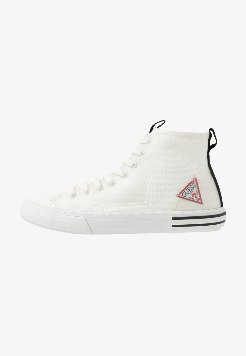 Guess - NETTUNO - Höga sneakers - white