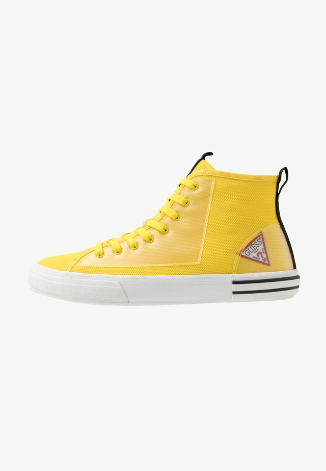 NETTUNO - Sneakers hoog - yello