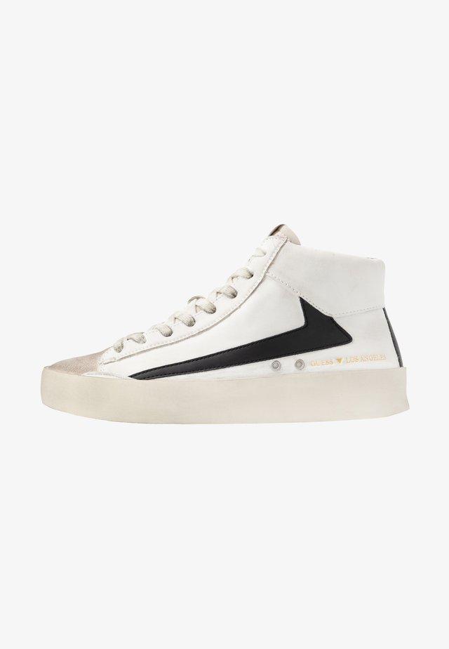 FIRENZE MID - Sneakers hoog - bianco/nero