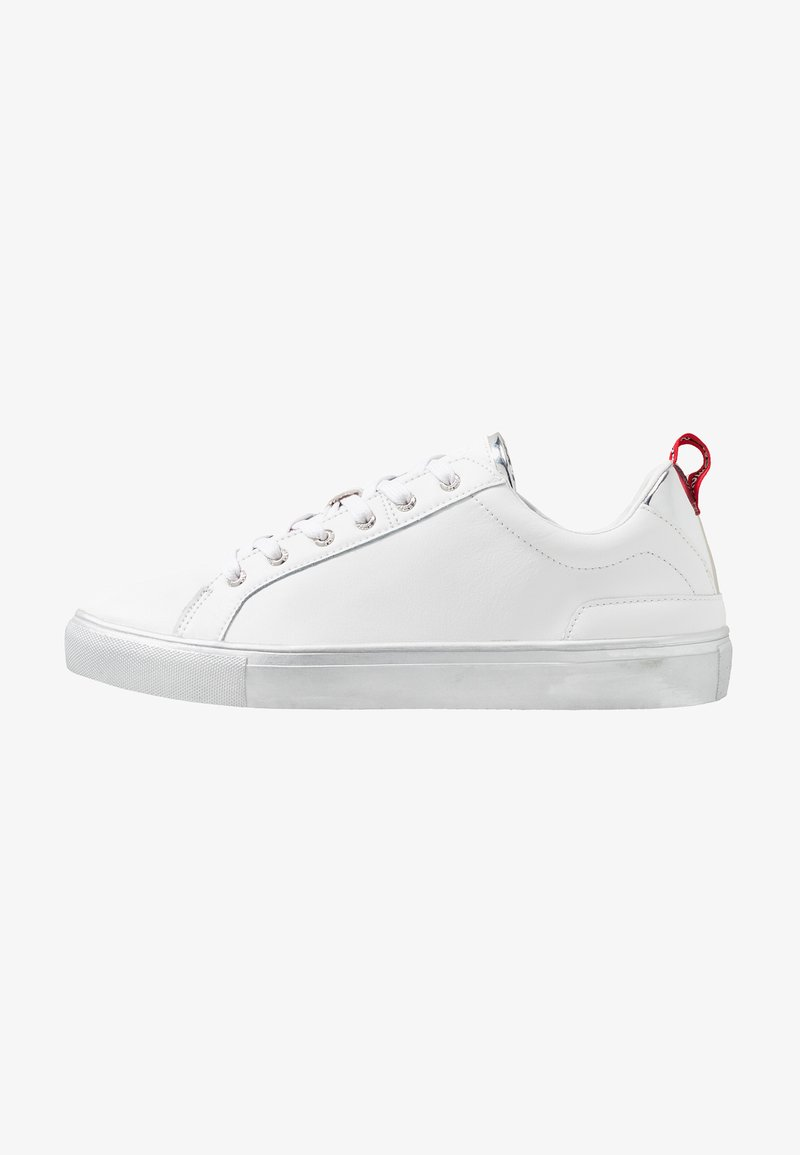 Guess - LUISS - Trainers - white/silver