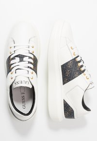 Guess - KEAN - Zapatillas - brown/ocra - 1