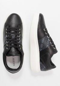 Guess - KEAN - Trainers - black/grey - 1