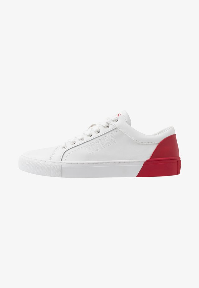 LUISS - Sneakers laag - white/red