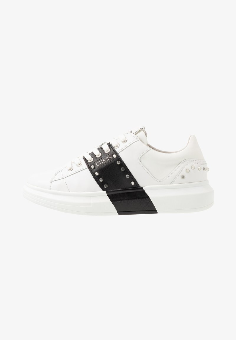 Guess - SALERNO II - Sneakers laag - white/black