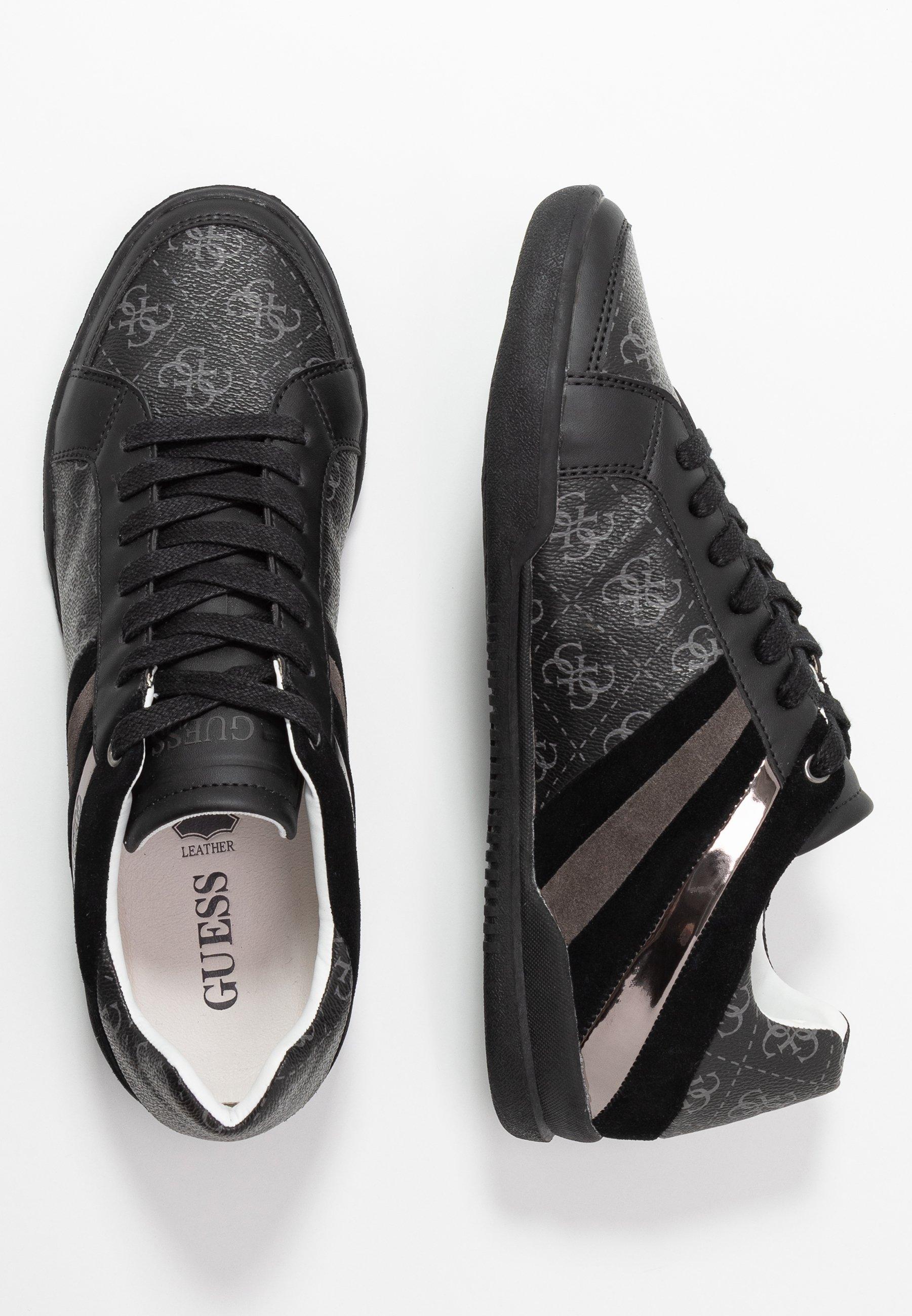 Guess MARTE - Sneakersy niskie - black/grey