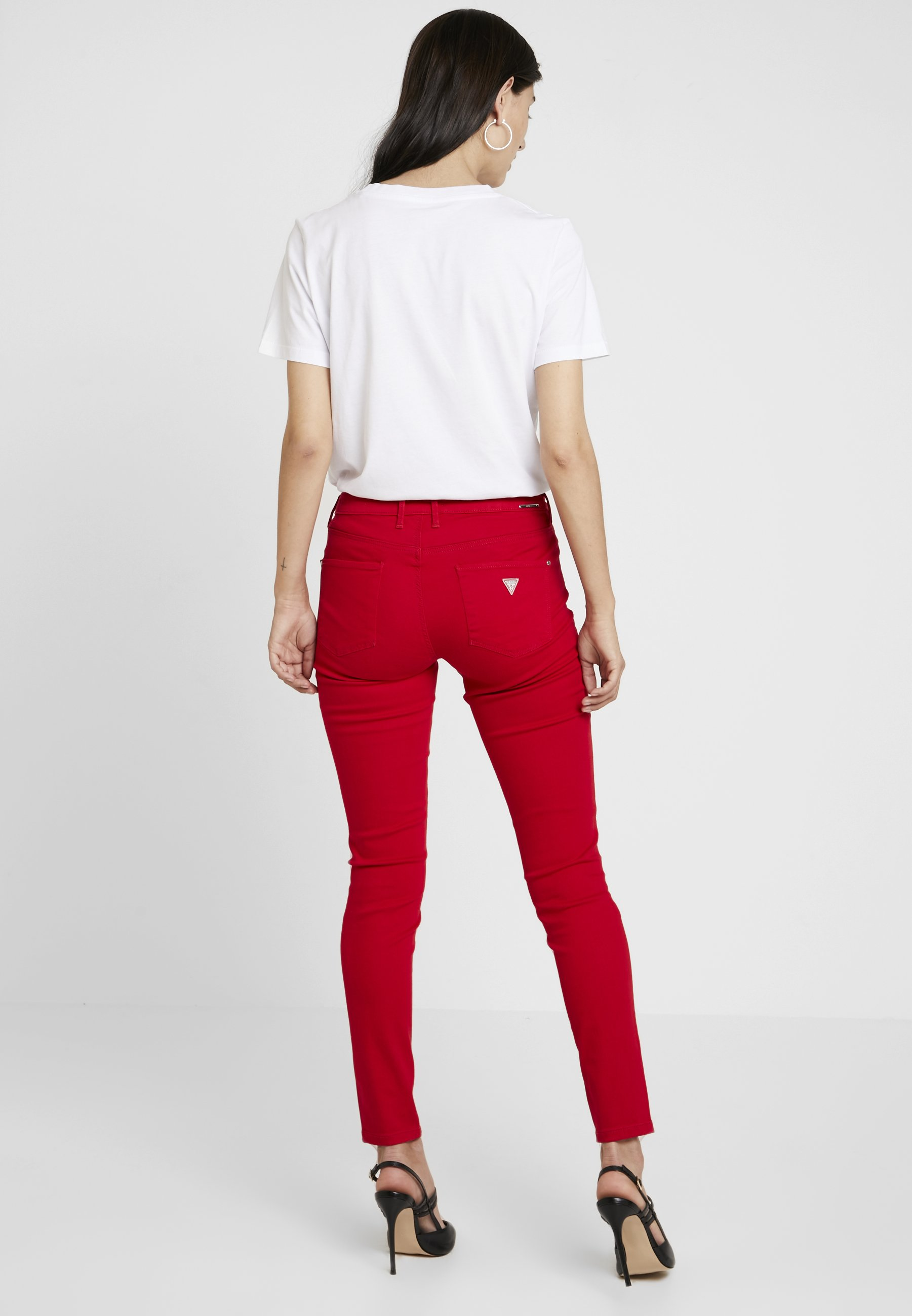 MidJeans Jegging Attitude Red Guess Skinny 4qALRj35