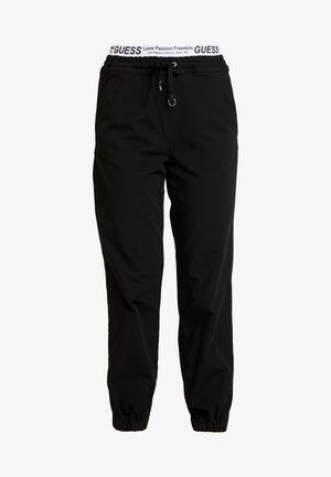 CORINNE JOGGER TAPE - Tracksuit bottoms - sporty black