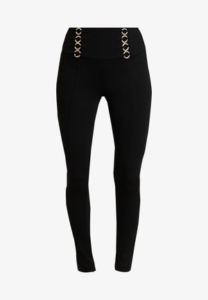 FERAH - Leggings - jet black