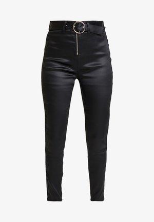 OLIVIA FUSEAUX - Spodnie materiałowe - black