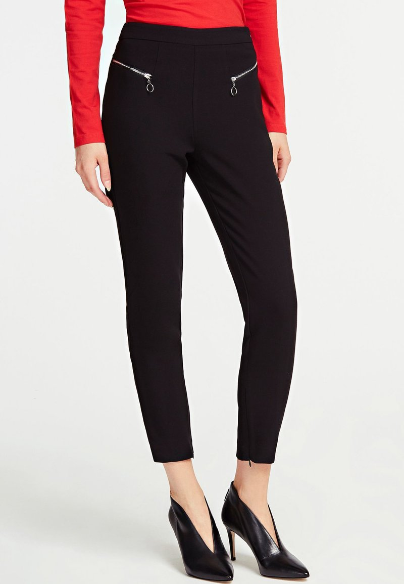 Guess - CARRIE - Trousers - black