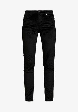 Trousers - jet black
