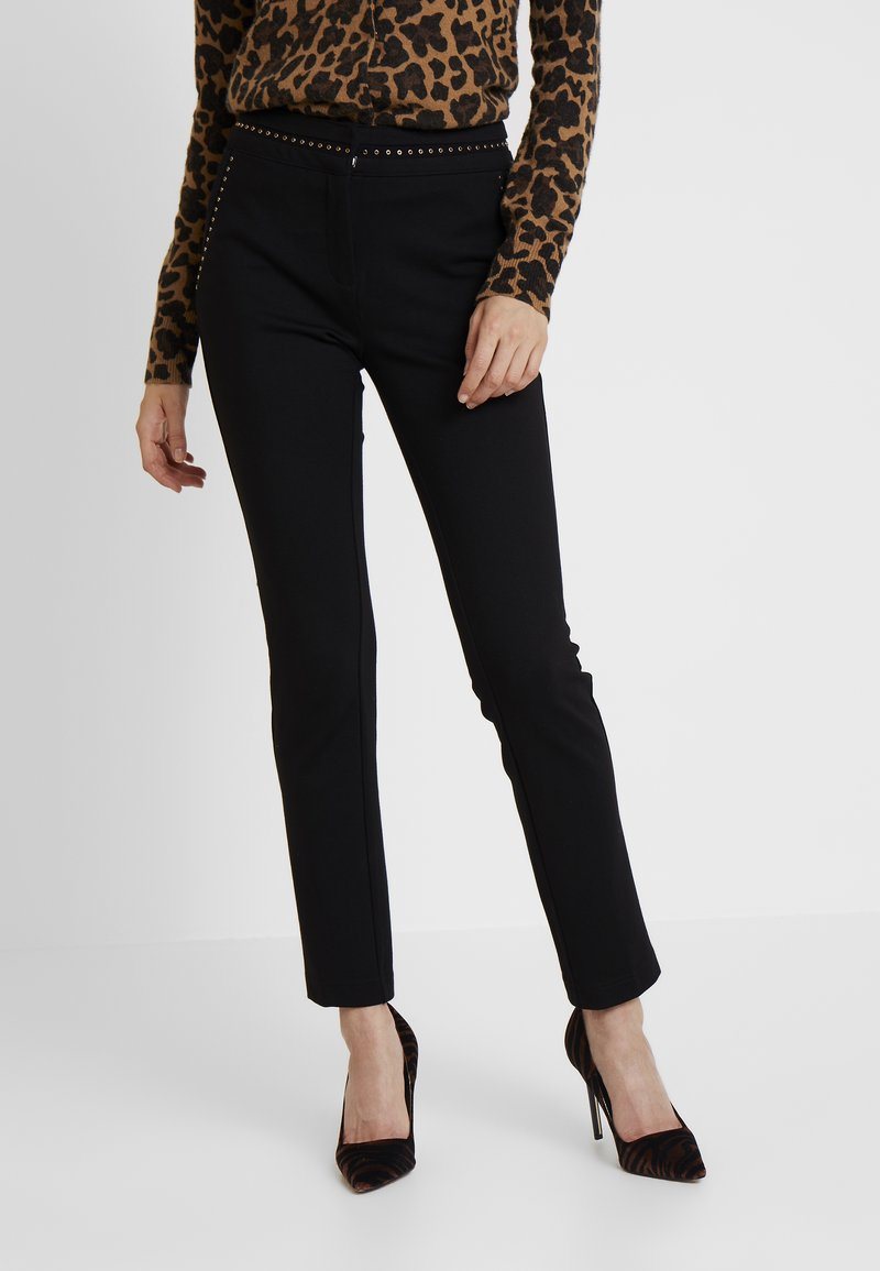 Guess - ZOE PANTS - Trousers - jet black