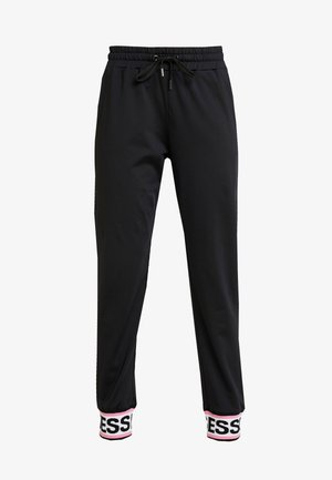 NINA PANTS - Tracksuit bottoms - jet black