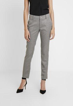 ZOE PANTS - Bukse - lurex grey check com