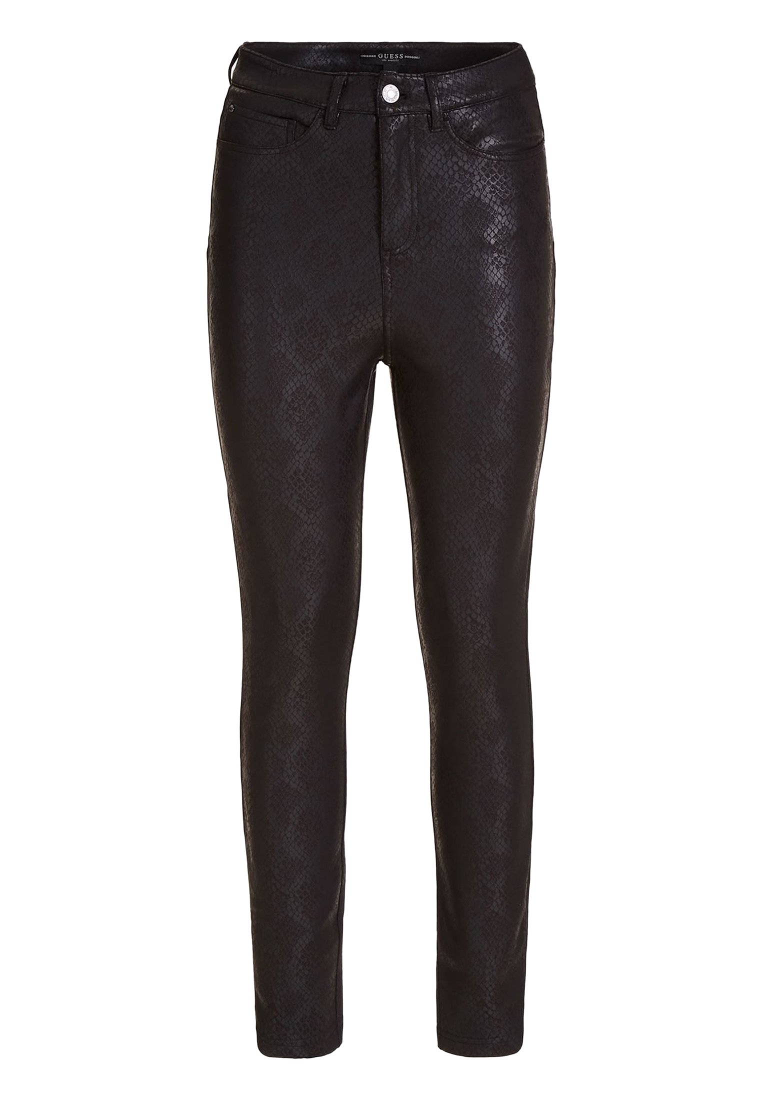 Guess HOSE PYTHON-OPTIK - Jeansy Skinny Fit - mehrfarbig schwarz