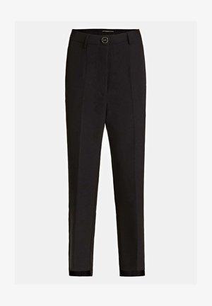 GUESS HOSE SLIM FIT - Pantaloni - schwarz