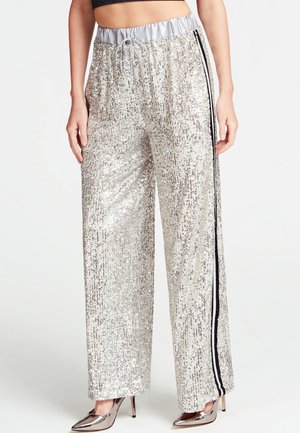 Trousers - argento