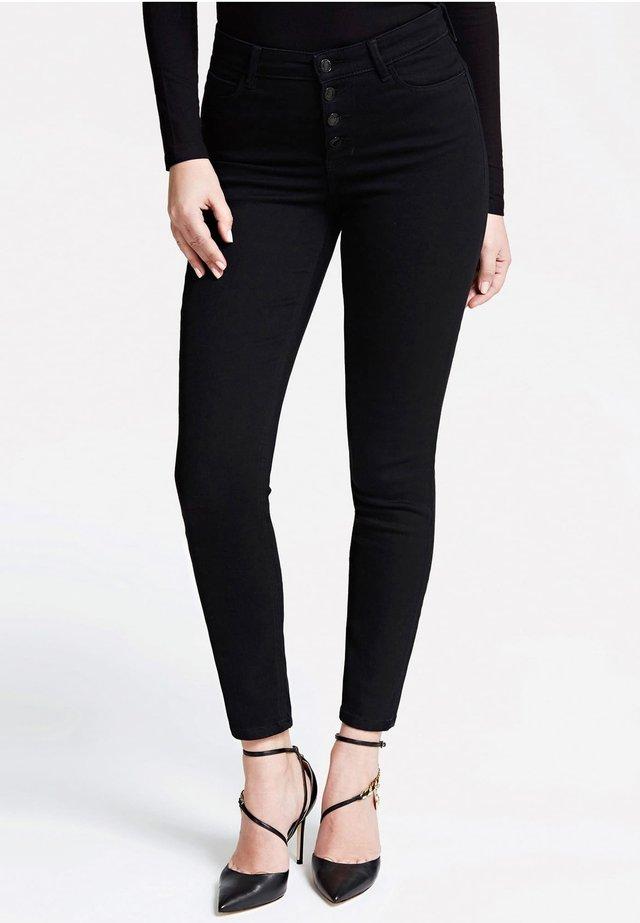 HOHER BUND - Spodnie materiałowe - schwarz
