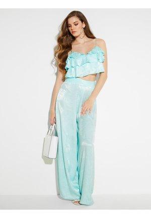 PANTALON - Pantaloni - turquoise
