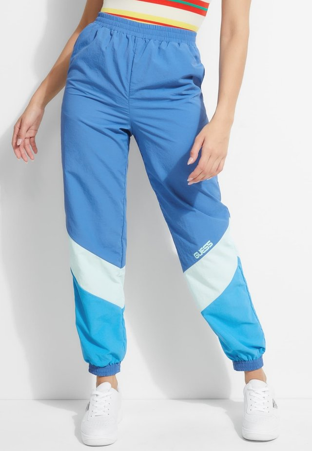 Spodnie materiałowe - blauw multi