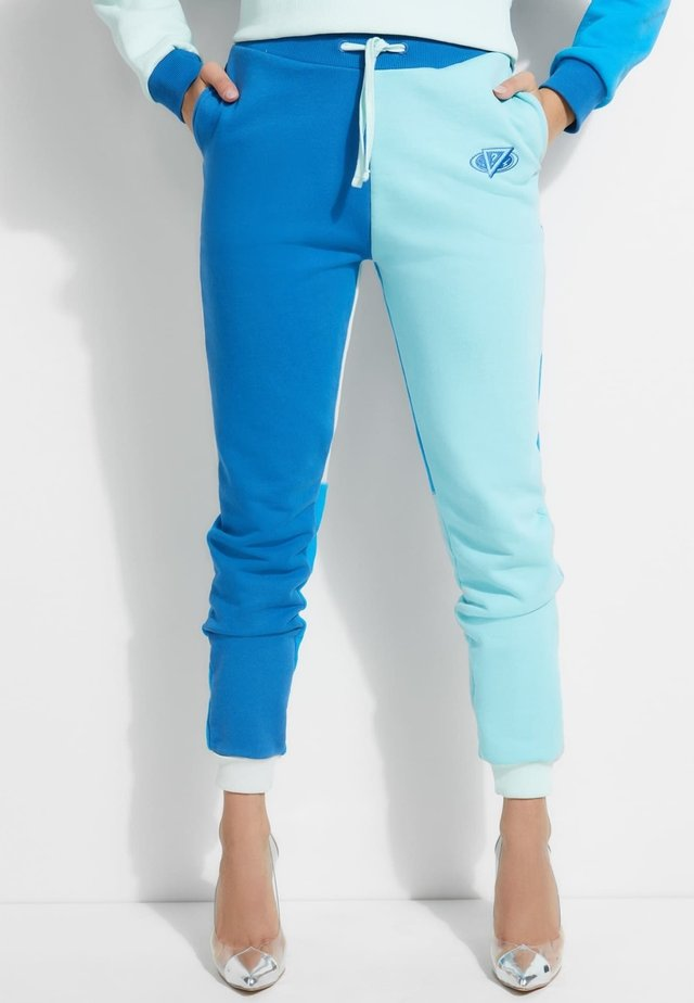 Legging - blau multi