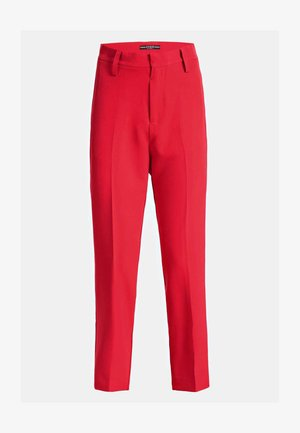 MIT GÜRTEL - Pantaloni - rot
