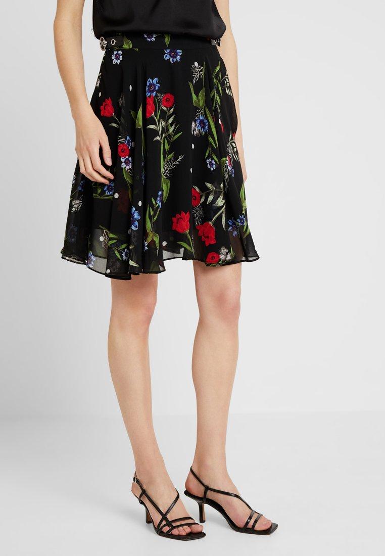 Guess - GRACE SKIRT - A-line skirt - black