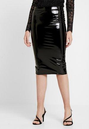 LILIA SKIRT - Falda de tubo - jet black
