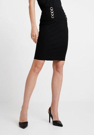 HEIKE SKIRT - Pouzdrová sukně - jet black