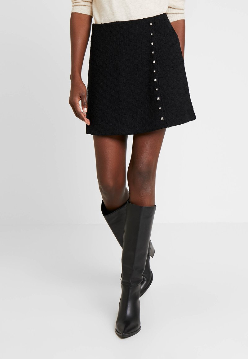 Guess - DOREEN SKIRT - Mini skirt - jet black