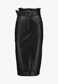 Guess - HELENE SKIRT - Kokerrok - jet black - 4