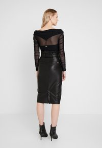 Guess - HELENE SKIRT - Kokerrok - jet black - 2
