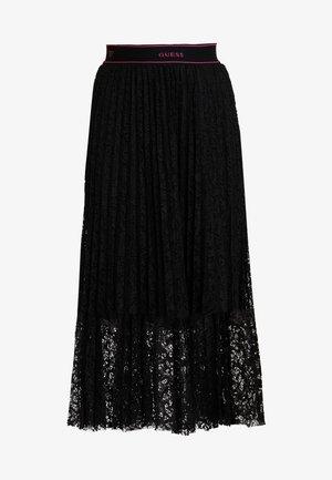 MALAK SKIRT - Pleated skirt - jet black