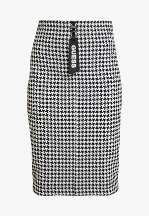 BRIDGET SKIRT - Falda de tubo - black/white