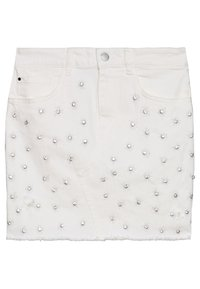 Guess - INDIA SKIRT - Gonna di jeans - jungle white - 0