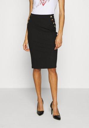 LULA  - Pencil skirt - jet black
