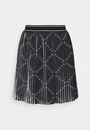 PAGE SKIRT - Gonna a pieghe - black