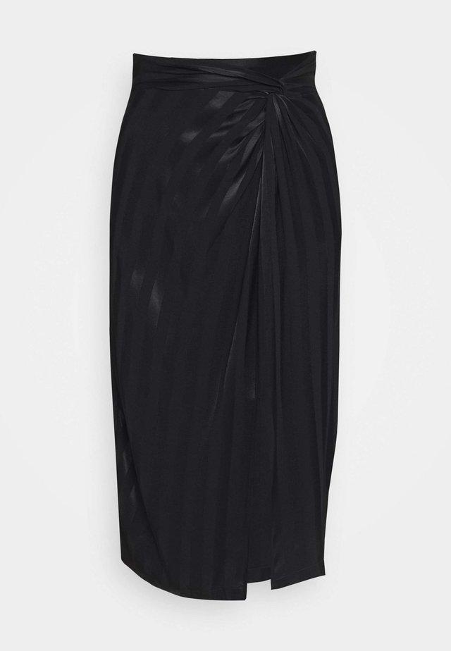 GALENE SKIRT - A-lijn rok - jet black