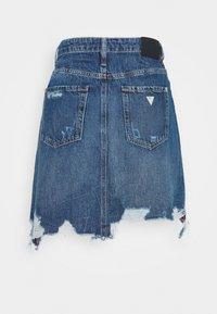 Guess - CASSY SKIRT - A-line skirt - pacha destroy - 1