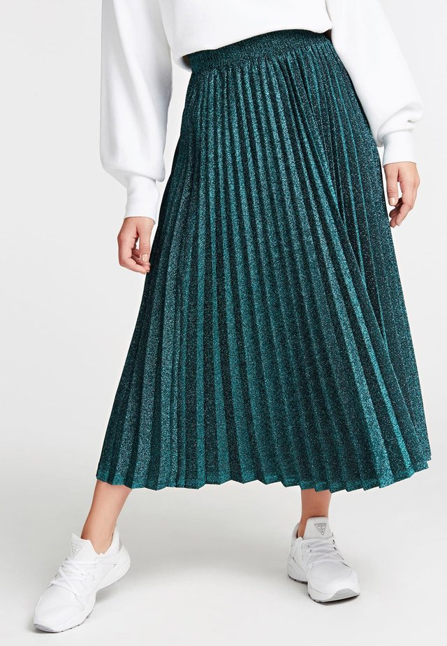 Spódnica trapezowa - green
